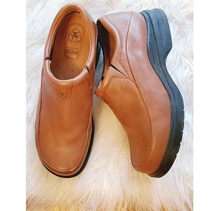 Ariat Expert Safety Slip On Leather Clogs 7.5